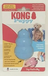 Kong Puppy - Dog Toy - Chew - Small - Blue - New.