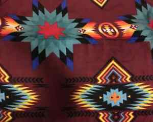 southwestern design kids size fleece blanket