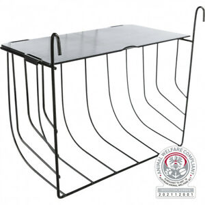 Large Trixie Hook On Cage Hutch Run Bars Rabbit Guinea Pig Hay Manger Rack Lid