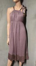 Matty M Purple Halter Dress Large L