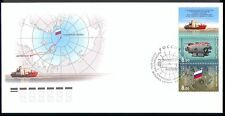 Russia 2007 Submarine/Ship/Polar/Map/Flag 3v FDC n29980
