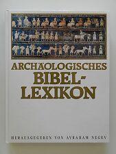 Archäologisches Bibellexikon Avraham Negev