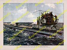 Claus Bergen U-Boot-Treffen Kaiserliche Marine Nordsee Mannschaft England 1917
