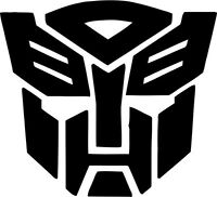 TRANSFORMERS VINYL STICKER DECAL VAN CAR COLOUR