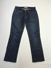 Women's Levi 10528 'Straight' Jeans - W29 L29 - Navy Wash - Great Condition