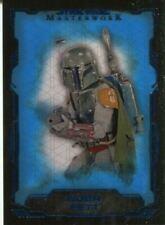 Boba Fett Star Wars Star Wars Masterwork Collectable Trading Cards