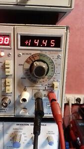 TEKTRONIX DM502 DIGITAL MULTIMETER POUR TM500 MAINFRAME FONCTIONNEL