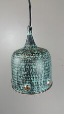 Copper Pendant Lightshade  - Green Vintage finish light shade fitting