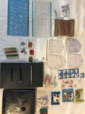 New listing Scrap-booking Craft Supplies Lot (Punch tools & Pad, Book, Stickers, and more)