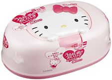 From Japan Hello Kitty Anime Wet Wipes & Case 80 Sheets for Baby