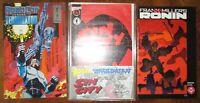 Frank MIller Ronin 1 Sin City Wizard 1/2 Special wCOA Robocop Versus Terminator