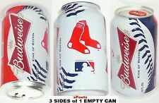 2013 BOSTON RED SOX MAJOR LEAGUE BASEBALL BUDWEISER SPORTS MLB BUD MASS BEER CAN
