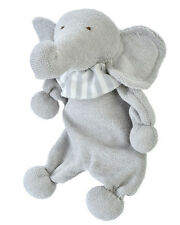 Under the Nile 100% Egyptian Organic Cotton Lovey Elephant Stuffed Animal 134565