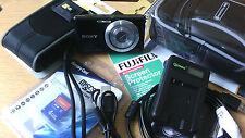 BLACK Sony Cyber-shot DSC-W530 14.1MP Digital Camera IN VERY GOOD CONDITION.
