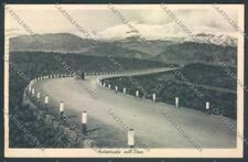 Catania Autostrada Etna cartolina ZB9142