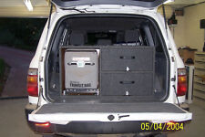 4x4 Rear Drawer Double Decker with Fridge Space Storage System  for 4WD