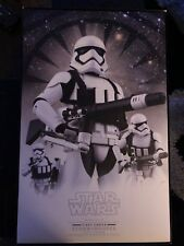 Star Wars First Order Storm Trooper 1/6th scale collectors edition.
