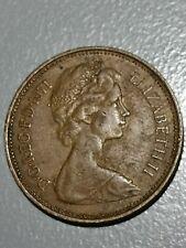 UK COIN Rare 1971 2 New Pence Queen Elizabeth II Circulated Nice Bronze Coin