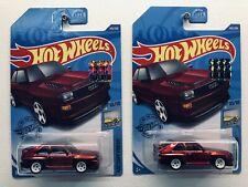 Hot Wheels Super Treasure Hunt 2020 '84 Audi Sport Quattro x2
