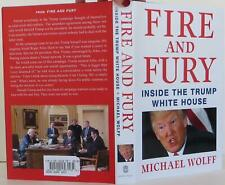 Michael Wolff / Fire and Fury First Edition 2018 #1803024