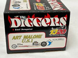 1/24 1320 The Diggers Fuel Dragster Art Malone U.S. 1  1306 JD271C