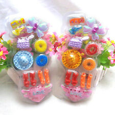 1 Set Blister toy for Barbie Doll Accessories Shoes Hair Clips Bag Kids Toys JB