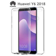 Funda Proteccion 360º Gel TPU Hibrida Transparente para Huawei Y6 2018