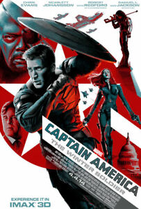 """Captain America - Winter Soldier ( 11"""" x 17"""" )Movie Collector's Poster Print"""
