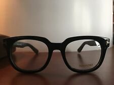 Black Tom Ford RX Prescription Frame eyeglasses Mens Womens Unisex Optical clear