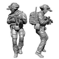 1/35 Soldier Army Mask Seal Marine Airborne Resin Scale Figure Model S5F8 S L8H9