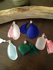 A Lot Of 5Pcs Cute Small Perfume Bottle W/tassel In Various Design,new