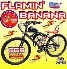 66cc/80cc 2-Stroke Motorized Bike Kit And Monster Cruiser Bike Powerful Boom