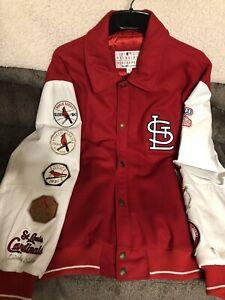 Original 1982 World Series WS 9x Champion St. Louis Cardinals Jacket