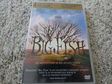 BIG FISH Action Adventure DVD Region 1 VGC PG Golden Globe Nominations