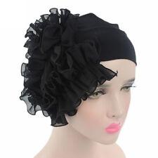 Women Flower Cancer Chemo Hat Beanie Scarf Turban Head Wrap Cap Headband BK