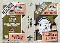 Vintage MUSIC MASTERS SERIES RICHARD WAGNER CASSETTE AUDIO TAPE Allegro ACS 8509