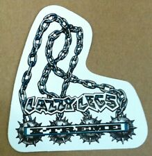 Vintage Lazzy Legs protective inline skate skateboard gears stickers & decals