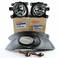 Genuine Hyundai Fog Light Kit 2010-12 Santa Fe L&R, Covers, Pigtails 92201-2B500