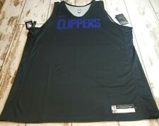 Nike  Authentic NBA LA Clippers Player Issue Practice Jersey Reversible 2XL NWT