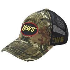 Lew's Camo Mesh Universal Cap Hat New Free Us Shipping