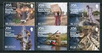 Jersey 2018 MNH JOA Jersey Overseas Humanitarian Aid 6v Set Cows Stamps
