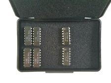6 pcs Mpq3725 Ic Transistors in Esd Box (Motorola and Generic)