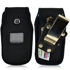 Turtleback LG 450 Flip Phone Black Nylon Fitted Case Roating Metal Belt Clip
