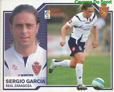 SERGIO GARCIA ESPANA REAL ZARAGOZA STICKER LIGA ESTE 2008 PANINI