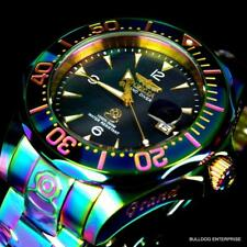 Invicta Grand Diver Black MOP Iridescent Steel Bracelet Automatic 47mm Watch New
