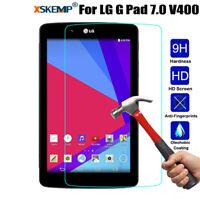 Premium Tempered Glass Guard Screen Protector Saver For LG G Pad 7.0 V400 V410