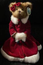 "New ListingBearington Bears ""Merry Holiday� 16� Plush Bear- #173002 Retired Nwt"