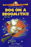 Dog on a Broomstick (Corgi Pups) by Jan Page,  Used Book (Paperback) FREE & FAST