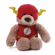 "GUND DC Comics Super Hero FLASH Blaze Bear 12"" Plush Toy Bear #4050323 NEW"