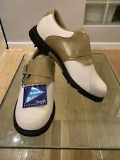 HI-TEC SYMPATEX Golf Shoes Size 4 UK White And Cream NEW